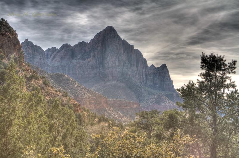 The Watchman - Mt. Zion National Park, Utah.