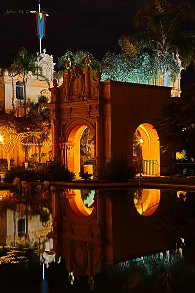 Lilly pond, Balboa Park, San Diego, CA