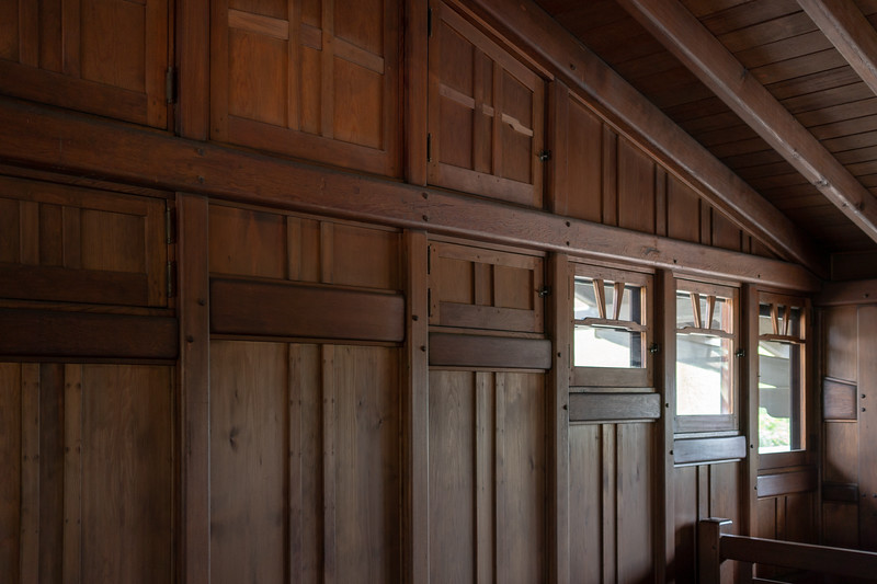 The attic or Billiards Room, Gamble House