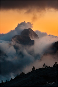 Emergence, Half Dome from Olmsted Point, Yosemite