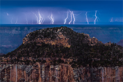 Electric Night, North Rim, Grand Canyon