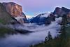 Twilight Mist, Tunnel View, Yosemite