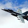 F-18 flyover at the Edmonton Indy, Edmonton, Alberta