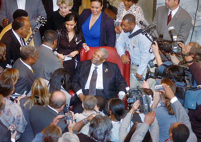 B.B. King honored at Mississippi Capitol