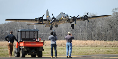 Memphis Belle takes flight