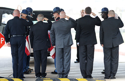 Honoring a fallen comrade