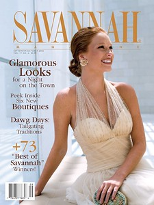 Savannah Magazine cover story