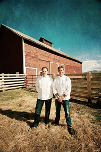 Chefs and restaurant owners in Jackson Hole Wyoming. Marketing and PR use.
