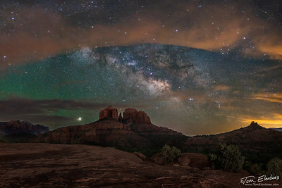 Secret Slick Rock Milky Way