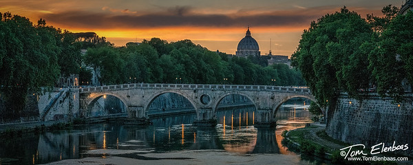 Ponte Sisto and St. Peter's Basilica, Rome