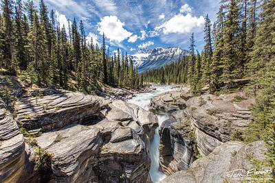 Mistaya Canyon, Icefields Parkway