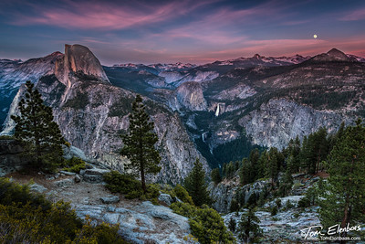 Moonrise Over Little Yosemite Valley
