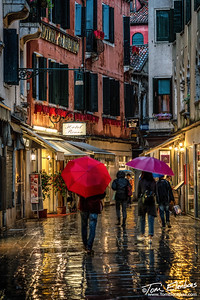 Stormy Night in Venice