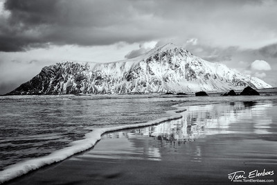 Skagsanden Beach, Lofoten Islands