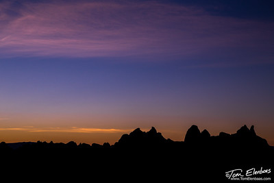 Daybreak at Alabama Hills