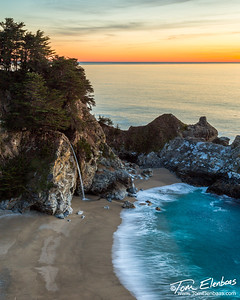 McWay Falls, Julia Pfeiffer Burns State Park, Big Sur Coast