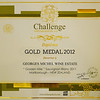 "Georges Michel 2011 ""Golden Mile"" Sauvignon Blanc<br /> <br /> Gold Medal International Wine Challenge 2012 . Bordeaux ( France)<br />  <a href=""http://www.georgesmichel.com/wines/awards-and-accolades/"">http://www.georgesmichel.com/wines/awards-and-accolades/</a>"