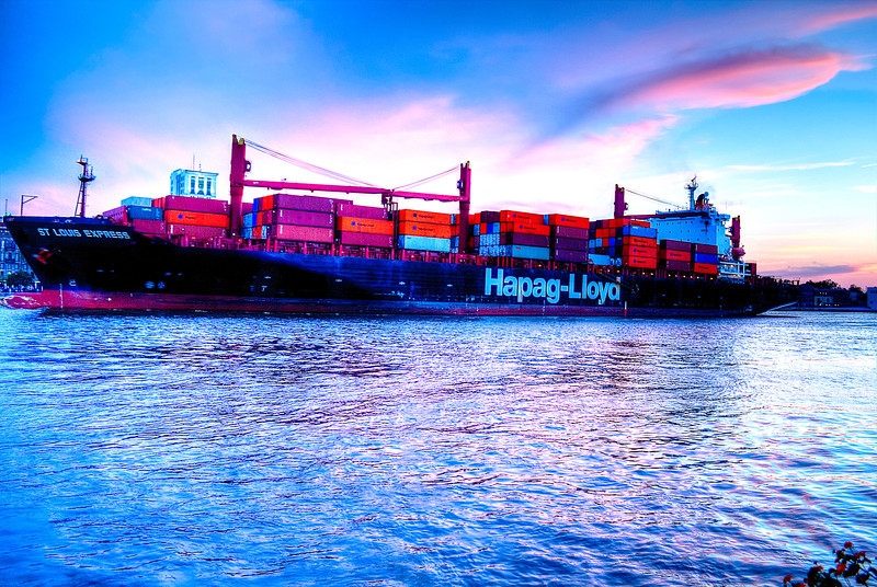 Savanna Ship Sunset