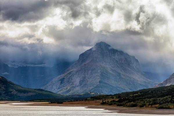 Stormy Glacier
