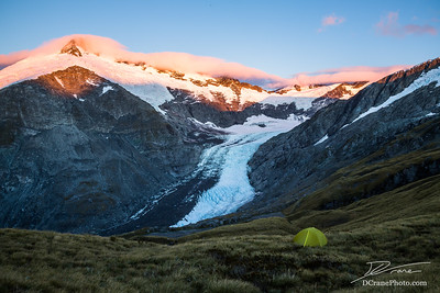Dart Glacier Sunrise (New Zealand)