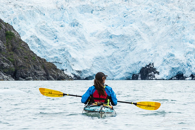 Paddling to the Beloit Glacier (Blackstone Bay, Alaska)