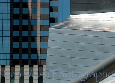 """""""Blue Steel"""" Jay Pritzker Pavilion  © Copyright Ken Welsh"""