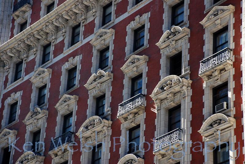 """The Balconies""<br /> <br /> New York City<br /> © Copyright Ken Welsh"