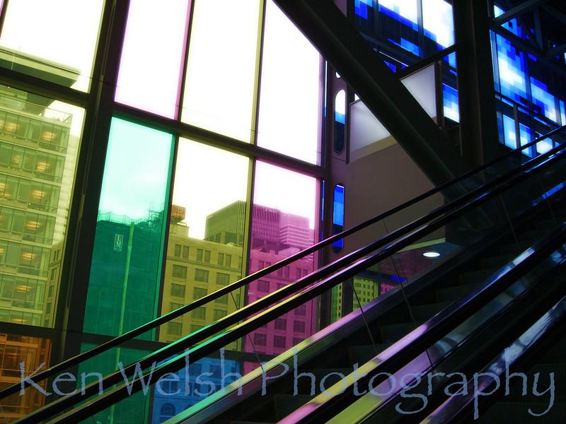 """""""City of Angles""""<br /> Palais des congrès <br /> © Copyright Ken Welsh"""