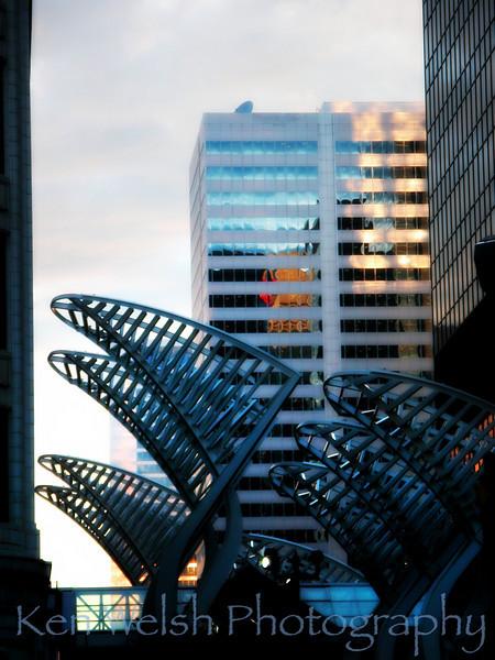 """""""Steel Wings""""<br /> <br /> Calgary<br /> © Copyright Ken Welsh"""