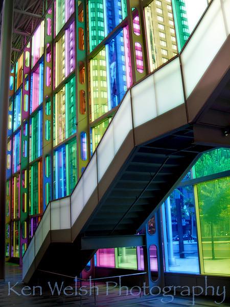 """""""Going Up""""<br /> Palais des congrès <br /> © Copyright Ken Welsh"""
