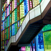 """Going Up""<br /> Palais des congrès <br /> © Copyright Ken Welsh"