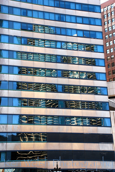 """""""Reflections on Marina City""""<br /> <br /> Chicago, IL<br /> © Copyright Ken Welsh"""