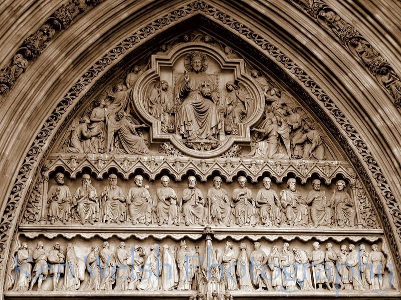 """Carved in Stone""<br /> <br /> Westminster Abbey <br /> © Copyright Ken Welsh"