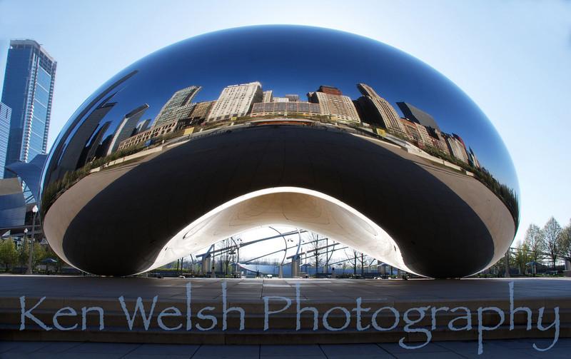Cloud gate © Copyright Ken Welsh