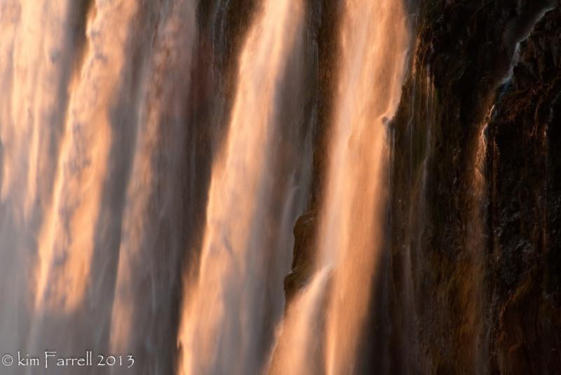The smoke that thunders.  Victoria Falls, Zambia.