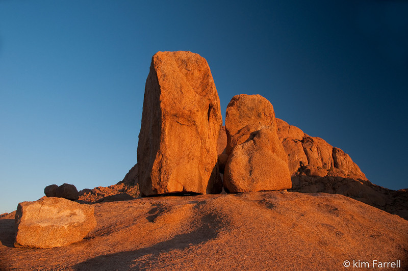 Stones.  Spitzkoppe, Namibia.