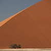 Largest sand dunes in the world.  Soussevlei, Namibia.