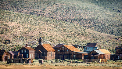 Morning Light in Bodie Ghost Town