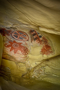 Chumash Painted Cave- Left Side