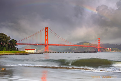 Golden Gate Morning Rainbow