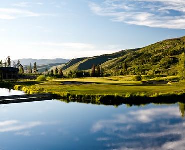 Raven Three Peaks Golf Photography