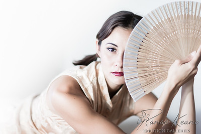 Asian Fan Model Kayli Towler ©2017 Ranae Keane-Bamsey Photography www.EMotionGalleries.com