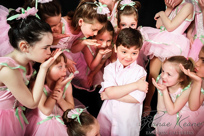 Baby Ballerinas Blowing Kisses to the Little Cavalier ©2017 Ranae Keane-Bamsey Dance  Photography www.EMotionGalleries.com
