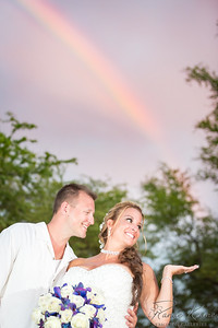 Lori & Calvin Wedding with Rainbows©2016 Ranae Keane-Bamsey