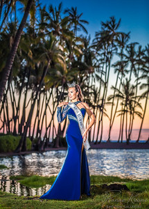 Miss Hawaii and Winner of Miss Congeniality at Miss America ©2016 Ranae Keane-Bamsey