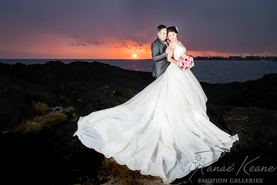 Hawaii Wedding ©2017 Ranae Keane-Bamsey Photography www.EMotionGalleries.com