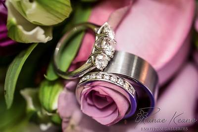 Wedding Rings and Roses Diamonds Galore ©2017 Ranae Keane-Bamsey Photography www.EMotionGalleries.com