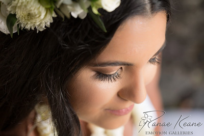 Lovely and Soft Bridal Makeup and Brides Hairstyle ©2016 Ranae Keane-Bamsey