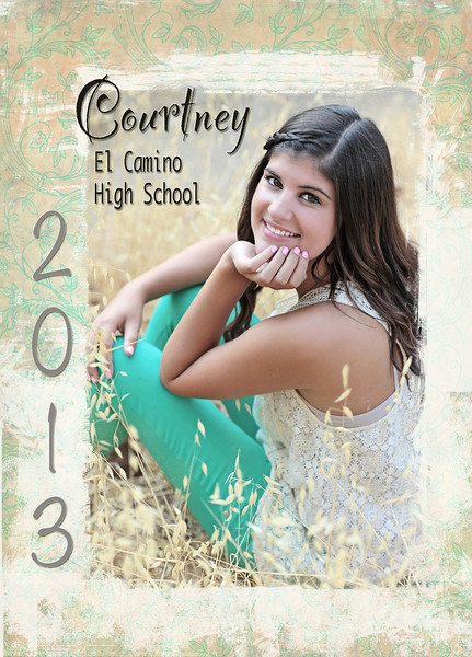 Courtney Announcement 5x7