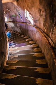 Stairway Inside Watchtower